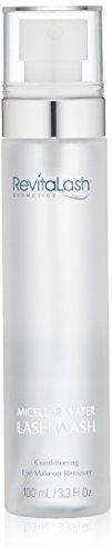 RevitaLash Micellar Water Lash Wash, 3.3 fl. (Lash Wash Makeup Remover)