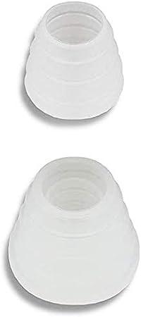 Sellos de goma para cachimba 2 piezas juego de sellos sello grande 1 pieza para cabezal de shisha y sello pequeño 1 piezas para conector de manguera Accesorios para shisha (2 piezas)