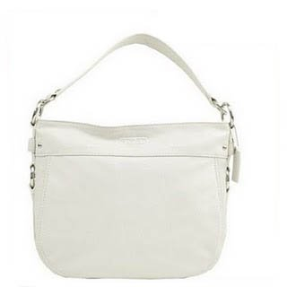 Coach Zoe Convertible Leather Bag 14707 White, Bags Central