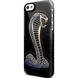 Ford Mustang Cobra Shelby Logo for Iphone and Samsung Galaxy Case (iPhone 5/5s black)