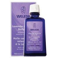 Pack of 4 x Weleda Relaxing Body Oil Lavender - 3.4 fl oz
