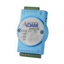 Digital I/o Module - Advantech ADAM-6066-D 6 DO/6 DI Power Relay Module, I/O Module, Digital, 6 Inputs, 6 Relay Outputs, Modbus TCP