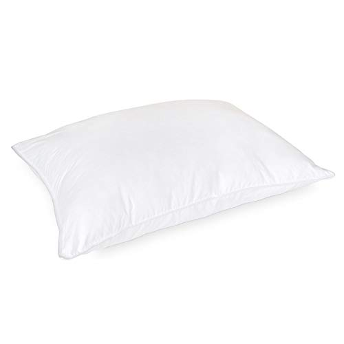 - DOWNLITE Luxury Hotel Style 50% Goose Down and 50% Goose Feather Blend Pillow - Medium Density