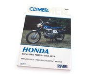 Clymer Manual - Compatible with Honda 250 & 350cc Twins - 1964-1974