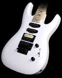 Kramer Custom 211 Solid Body Electric Guitar with Floyd Rose Tremelo, Gloss White