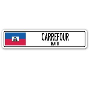 carrefour-haiti-street-sign-sticker-decal-wall-window-door-haitian-flag-city-country-road-wall-22-x-
