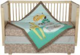 (Lolli Living Zig Zag Zoo 4 Piece Crib Set)