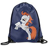 Price comparison product image AK79 Personalized Denver Pony Broncos Travelling Bag White