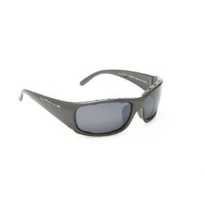 Native Eyewear Bomber Polarized Sunglasses - gunmetal/silver reflex gray w/ sportflex, regular fit