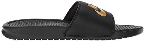Métallisé Nike Benassi Gold metallic Noir Chaussures Jdi Piscine Homme amp; 016 Plage black doré De TZvTqxFwr