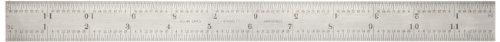 Starrett B12–4R Kombinationswinkel Klinge mit Zoll Graduierung, Sets schräg und Winkelmesser, Regular Finish, 4R der Graduierung 2,5 cm, Breite, 3/81,3 cm Stärke, 30,5 cm Größe