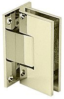 CRL Polished Nickel Vienna 037 Series Wall Mount Hinge 037 Series Antique