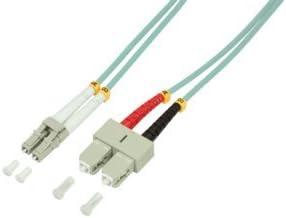 BIGtec 35m LWL Kabel Patchkabel OM2 Glasfaser-Kabel 10Gbit Multimode 50//125/µm /Ø 2mm Jumper LC LC Stecker Duplex Orange Fiber Optic Cable
