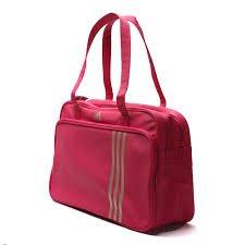 adidas - Cartera de mano con asa para mujer Rosa rosa: Amazon.es: Equipaje
