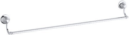 KOHLER K-11412-CP Bancroft 30-Inch Towel Bar, Polished Chrome Color: Chrome, Model: 11412-CP, Hardware Store