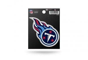 Rico Industries NFL Tennessee Titans Die Cut Team Logo Short Sport Sticker