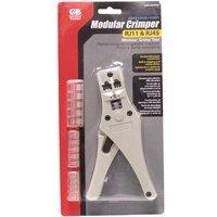 Gb-GardnerBenderProducts Crimper Modular Plug Rj45/Rg11, Sold as 1 Each