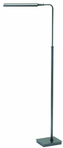 House of Troy G300-GT Generation Collection 37-Inch to 46-1/2-Inch Adjustable LED Pharmacy Floor Lamp, Granite