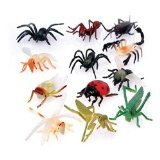 "US Toy - Assorted Mini Insect Bug Figures, 2"", Plastic (1-Pack of 12)"