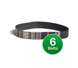 Genuine Vacuum Belt for: Oreck 79095-01 / 7909501 (6-Pack)