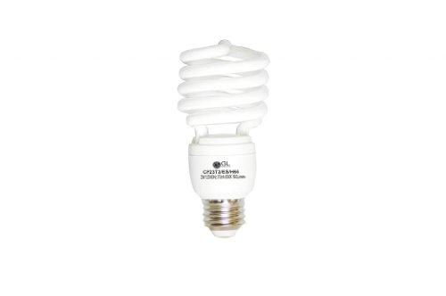 Goodlite G-10853 23-Watt CFL 100 Watt Replacement 1600-Lumen T2 Spiral Light Bulb, Super Long 12,000 hour life (10.9 Years) 25-Pack by GL Goodlite®