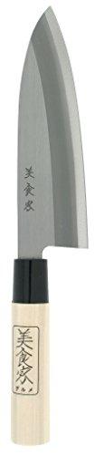 Kotobuki Japanese Banno Chef's Knife, 6 to 1/2-Inch, Silver by Kotobuki