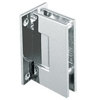 - CRL Geneva 037 Series Brushed Nickel Wall Mount Full Back Plate Standard Hinge