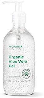 Aromatica Organic Aloe Vera Gel 300ml Soothing & Cooling, Moisturizing with Organic Aloe 95% by AROMATICA