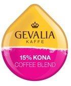 GEVALIA 15% KONA COFFEE TASSIMO T-DISC 32 COUNT by Gevalia (Kona Coffee Tassimo)