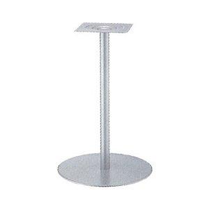 e-kanamono テーブル脚 センターS7500 ベース500φ パイプ42.7φ 受座240x240 I41紛体塗装 高さ700mmまで B012CC8VZO