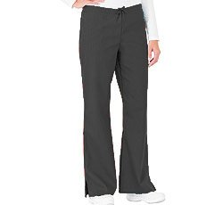 White Swan Flare Leg Pant (White Swan Flare Leg Scrub Pant; Color = Granite; Size 2X Tall)