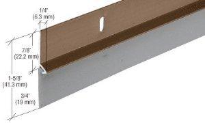 CRL Bronze Aluminum Door Sweep - DS37BRW