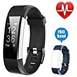 Best Cheap Fitness Trackers - Letsfit Fitness Tracker HR, Activity Tracker Watch Review