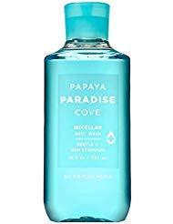 (Bath and Body Works PAPAYA PARADISE COVE Micellar Body Wash 10 Fluid Ounce (2019 Edition))
