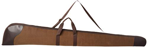 - AG Premium Vintage Leather Shotgun Gun Case Scoped Rifle Bag Slip Padded Bag 50