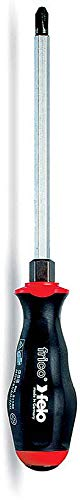 Felo 0715732368 Phillips #2 x 4-Inch Screwdriver with Hex Bolster, 552 Series