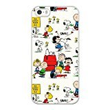 New Stylish Hard Case Cover For iPhone 5 5S SE / White / snoopy 3 / Free Screen Protector / DD_9801747