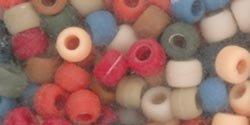 The Beadery Pony Beads 6x9mm, 900/Pkg: Americana Multi