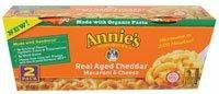 Annie's Homegrown Macaroni & Cheese Organic Real Aged Cheddar -- 2 Pack by Annie's Homegrown