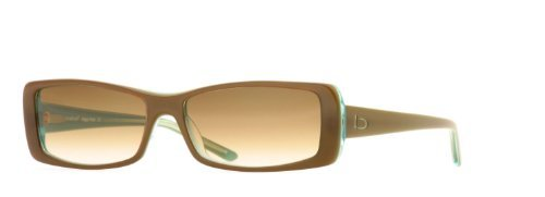 Bebe Eyes Signature Eyewear Sunglasses Happy Hour Frame 58/16/135 Creme De (Bebe Brown Sunglasses)