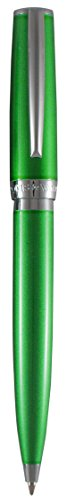 Marquis by Waterford Convenient Push-top Ballpoint Retractable Pen, Green Lacquer ()