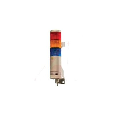 Patlite AR-078-011-3-RYG Signal Tower LED Continuous 3-Stack Direct/Wall Mount Red/Yellow/Green