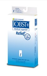 Jobst Relief Knee High Socks #114807 Beige Medium