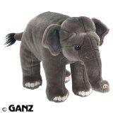 Webkinz SIGNATURE Endangered Species Deluxe Plush Figure Asian Elephant + Free Animal Planet