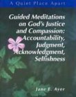 Read Online A Quiet Place Apart: Leader's Guide : Guided Meditations on God's Justice and Compassion : Accountability, Judgment, Acknowledgment, Selfishness pdf epub