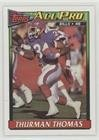 Thurman Thomas (Football Card) 1991 Topps - [Base] #52