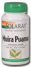 Muira Puama racine 300mg - 100 capsules