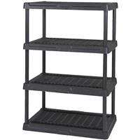 Contico 4-Tier Ventilated Plastic (Resin Garage Storage)