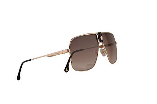 - Carrera 1018/S Sunglasses Gold w/Brown Gradient Lens 63mm J5GHA CA1018/S 1018S