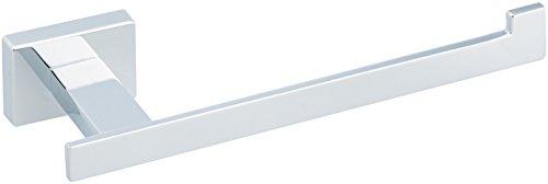 - AmazonBasics Euro Toilet Paper Holder, Polished Chrome